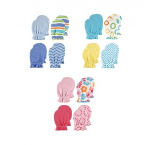 LUVABLE FRIENDS Scratch Mittens - 4 PK