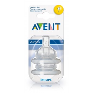 PHILIPS AVENT Replacement Teats Level 1