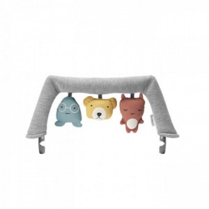 BABYBJORN Toy For Bouncer, Soft Friends