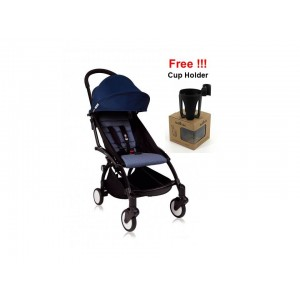 Babyzen Yoyo+ 6+ Stroller - Black Frame-Air France