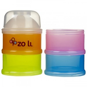 ZOLI ON THE GO Travel Formula & Snack Dispenser