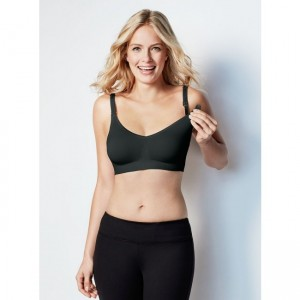 Bravado Body Silk Seamless Nursing Bra (Black)