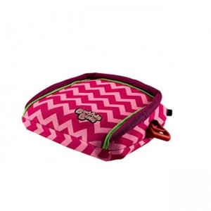 Bubble Bum Backless Inflatable Booster Seat-Pink