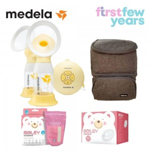 Medela Swing Maxi Flex™ 2-Phase double electric breast pump BUNDLE 3