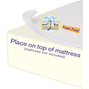 DEX BABY Breathe Free Miracle Mattress Pad