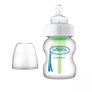 Dr. Brown's Options Wide Neck Glass Bottle (5oz/150ml)