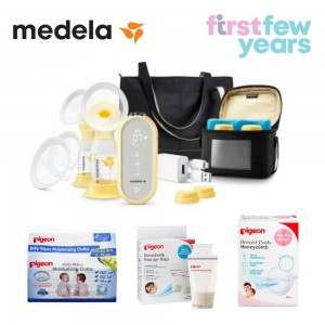 Medela Freestyle Flex™ 2-Phase double electric breast pump BUNDLE 5