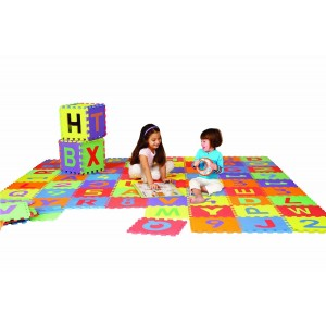 EDUSHAPE Edu-Tiles Letters & Numbers