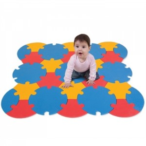 EDUSHAPE Edu-Tiles Circle Mat