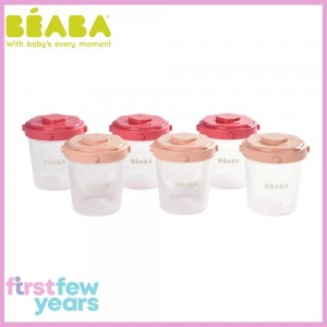 Beaba Set of 6 Clip Portions 2nd Age (200ml)