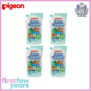 Pigeon Liquid Cleanser Refill Bundle Pack (650ml X 4)
