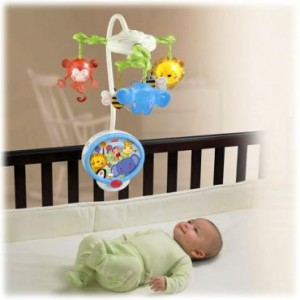 FISHER-PRICE Discover N Grow Twinkling Lights Projection Mobile