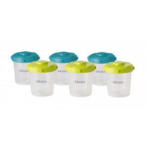 Beaba Clip Portions (6 X 200ml)