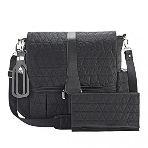 JJ COLE BACKPACK DIAPER BAG-BLACK TRIANGLE