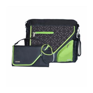 JJ Cole Metra Diaper Bag-Midnight Clover