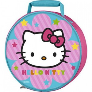 Thermos Round Lunch Kit - Hello Kitty
