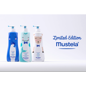 Mustela Bathtime-Buddies Collection (Limited Edition)