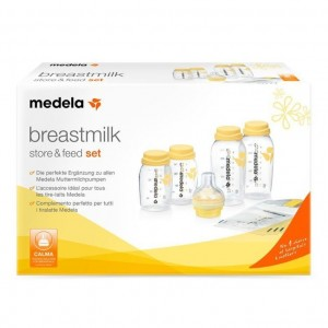 Medela Breast Milk Store&Feed Set