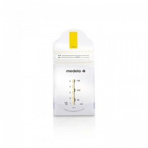 Medela Pump And Save Breastmilk Bags (50Pcs)
