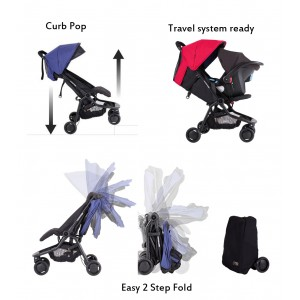 Mountain Buggy Nano 2 Travel System With Pali Infant Car Seat