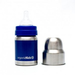 ORGANICKIDZ 4oz Wide Mouth Bottle - SOLIDS