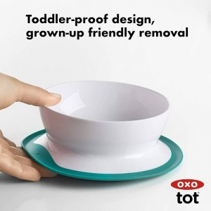 Oxo Tot Stick & Stay Suction Bowl (3 Colours)