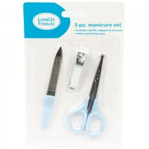 Luvable Friends 3-Piece Manicure Set