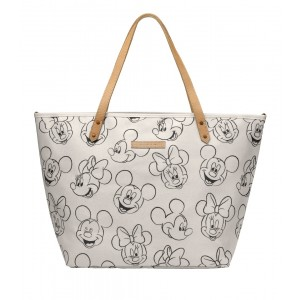 Petunia Pickle Bottom Downtown Tote-Mickey & Minnie