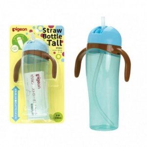 PIGEON STRAW BOTTLE TALL (330 ML)