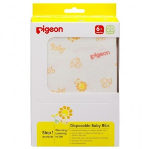Pigeon Disposable Bibs (20pcs)