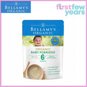 BELLAMY'S ORGANIC BABY PORRIDGE (125G)