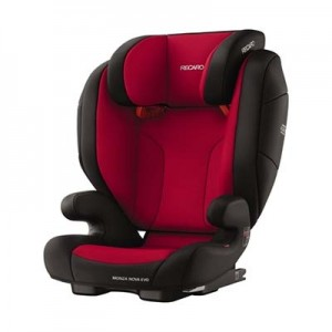 Recaro Monza Nova Evo Seatfix - RACING RED
