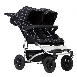 Mountain Buggy Duet Double Stroller-Grid
