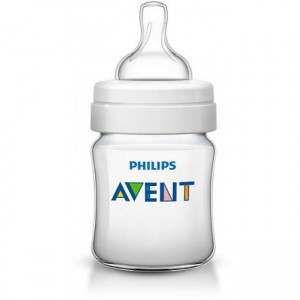 Philips Avent Classic+ Baby Bottle 4oz/125ml - 2 Pack
