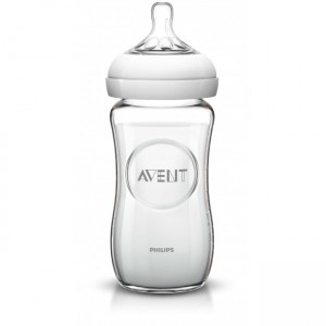 Philips Avent 240ml Glass Feeding Bottle