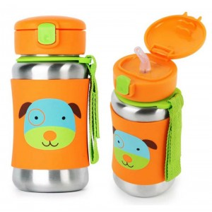 Skip Hop Zoo Stainless Steel Bottle