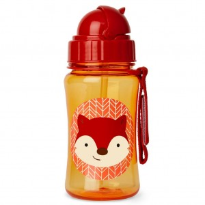 SKIP HOP ZOO 12OZ STRAW BOTTLE