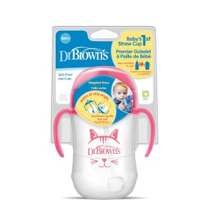 Dr. Brown's® Baby's First Straw Cup, 9 Ounce (6m+)