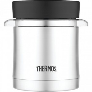 Thermos 12Oz Vacuum Insulated Food Jar With Microwavable Container