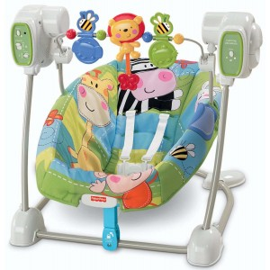 FISHER-PRICE Discover N Grow SpaceSaver Swing & Seat