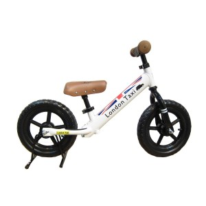 LONDON TAXI KICKBIKE-WHITE