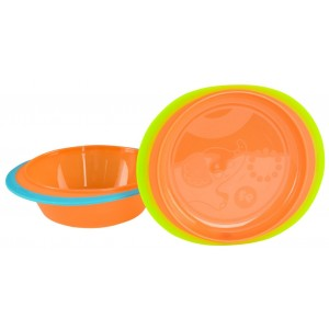 FISHER-PRICE Heat Sensitive Bowl & Plate