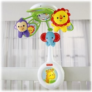 FISHER-PRICE Rainforest Friends Musical Mobile