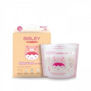 Bailey Disposable Pre-Sterilized Baby Food Bags