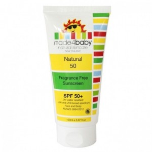 Made4Baby Sunscreen 150ml (Fragrance Free) SPF 50+