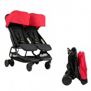 Mountain Buggy Nano Duo Stroller(Free Cocoon worth RM369)