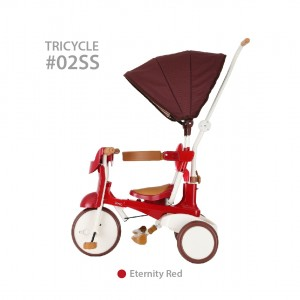 iimo Foldable Tricycle #02 Type SS (upgraded version with canopy)