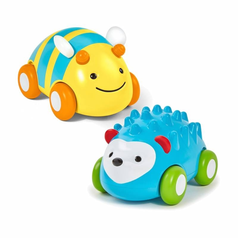 Skip Hop EXPLORE AND MORE ROLL PULL AND GO CAR BEE Baby Toys Activities NEW